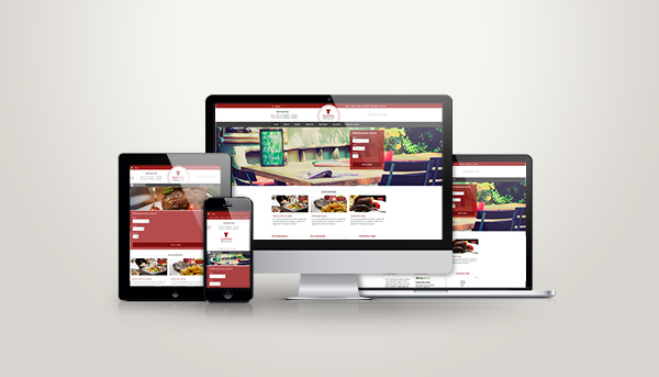 Restaurants Website Responsive