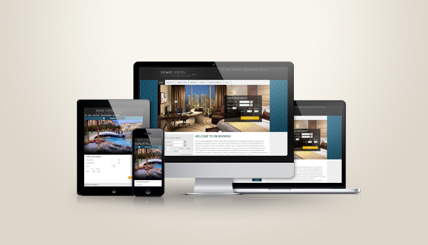 Hotel and B&B Website Responsive